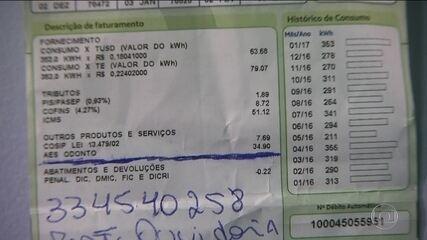 Clientes da Eletropaulo recebem cobrança de seguros junto com a conta de luz