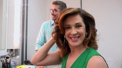 Salete, personagem de Claudia Raia em 'A Lei do Amor', faz sucesso com cabelo e maquiagem