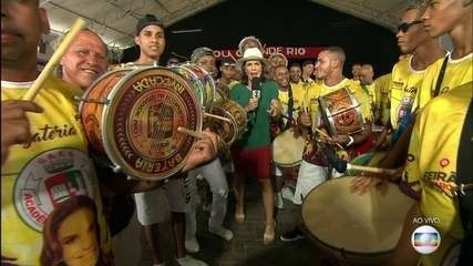 Grande Rio aposta na popularidade de Ivete Sangalo para levantar o caneco
