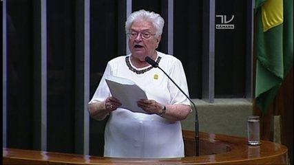 Em 2017, Luiza Erundina também se candidatou à presidência da Câmara; veja discurso