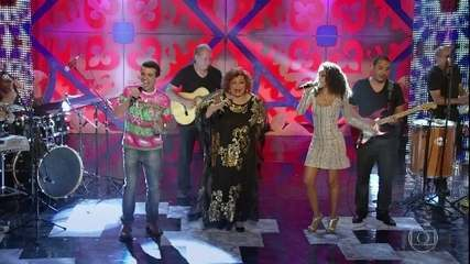 Penha e Gentil cantam com Alcione