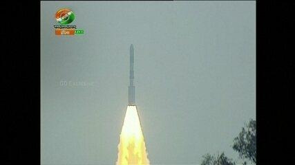 Índia consegue colocar com sucesso 104 satélites na órbita da Terra