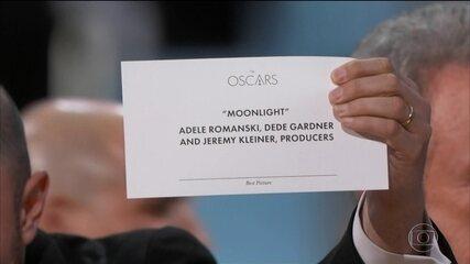 'Moonlight' leva o Oscar após erro no anúncio da vitória de 'La La Land'