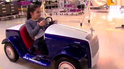 Rolls-Royce cria miniatura para crianças de hospital