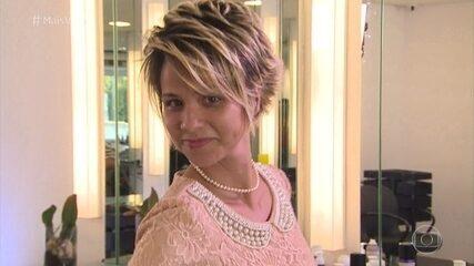 Fã pede para ter o cabelo igual ao de Ana Maria Braga