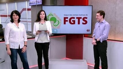 FGTS inativo: G1 tira dúvidas sobre como sacar e investir