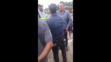Motorista para ônibus no DF para vetar 'pregação' de passageiro; vídeo