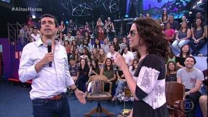 Fernanda Torres dá tapa em Marcius Melhem