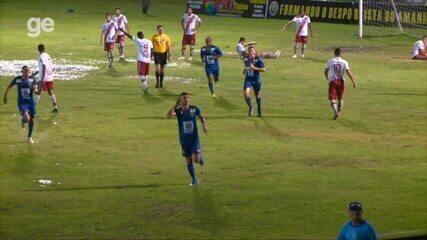 Altos vence o River-PI com gol de Manoel e se garante na semifinal do Campeonato Piauiense