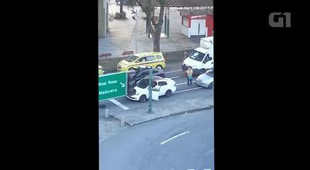 Tentativa de assalto termina em morte de PM em frente à Uerj, no Maracanã
