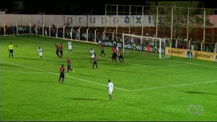 Gurupi vence o Joinville por 1 a 0, mas é eliminado da Copa do Brasil