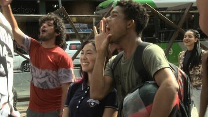 'Malhação Viva a Diferença' grava as primeiras cenas em São Paulo