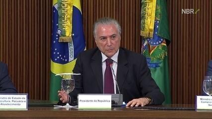 Michel Temer anuncia medidas após fraudes reveladas pela operação Carne Fraca