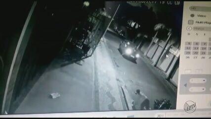 Câmeras de segurança flagram tentativa de homicídio em Descalvado