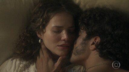 Leopoldina e Pedro têm sua primeira noite: relembre! ❤️