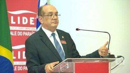 Ministro Gilmar Mendes participa de encontro empresarial em São José