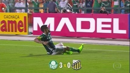 Palmeiras vence o Novorizontino por 3 a 0 e está na semifinal do Paulista