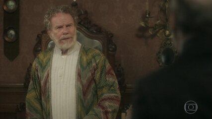 Diara discute com Schultz e Wolfgang o demite