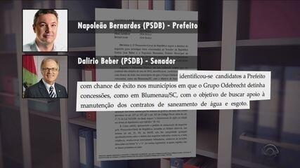Senador Dalírio e Prefeito Napoleão são citados em duas delações