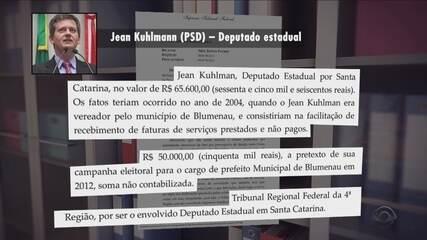 Deputado Jean Kuhlman, do PSD, é acusado de receber R$ 65,6 de propina em campanha