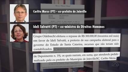 Inquérito vai investigar denúncia de propina a ex-prefeito de Joinville e ex-ministra