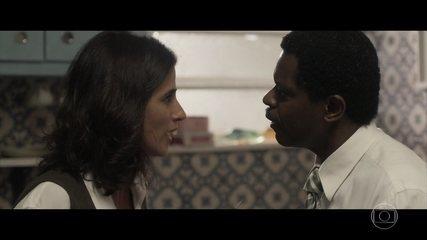 Josias se preocupa com Cátia e exige que Natália traga a filha de volta para casa
