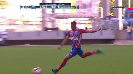 Confira os melhores momentos de Bahia 1 x 0 Fluminense de Feira