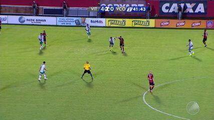 Confira os melhores momentos de Vitória 5 x 0 Vitória da Conquista