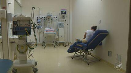 Crianças infectadas por vírus sincicial lotam UTIs de hospitais em Campinas