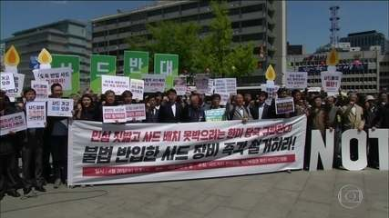 Sistema antimísseis americano para defender Coreia do Sul gera polêmica
