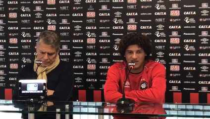 Gedoz afirma que time está empolgado para jogar o clássico da final do Paranaense