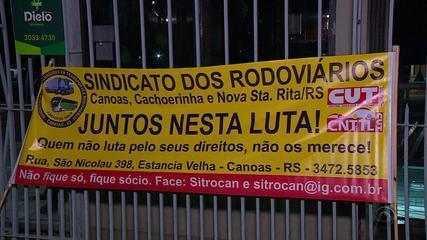 Porto Alegre não conta com serviço de ônibus e trens nesta sexta-feira (28)