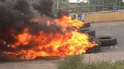 Barreiras, Conquista, Itabuna, Feira: veja como foi a manhã de protestos no interior
