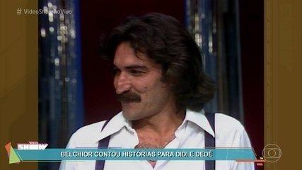 Relembre entrevista de Belchior para Didi e Dedé em 'Os Trapalhões'