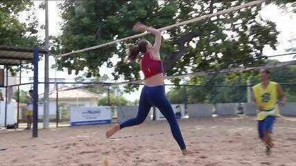 Dupla de vôlei do Tocantins conquista o bronze no Campeonato Brasileiro Escolar