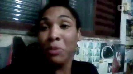 Transexual Verônica Bolina fala pela primeira vez depois de sair da prisão