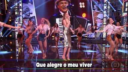 """Bárbara Fialho canta """"Eu Só Quero Um Xodó"""""""