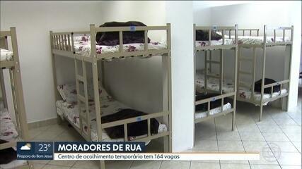 Prefeitura inaugura Centro Temporário de Atendimento para receber moradores de rua