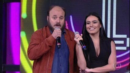 Paulinho Serra e Letícia Lima voltam a pontuar no 'Ding Dong'