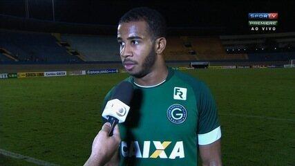 Patrick cobra mais espírito de luta do Goiás na Série B