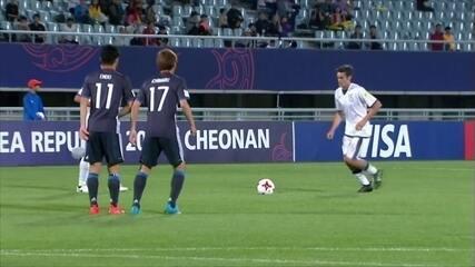 Os gols de Itália 2 x 2 Japão pela Copa do Mundo sub 20