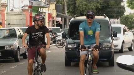 Parte 1: 'Zappeando' começa com desafio de bike