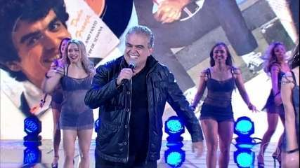 Dudu França cantou 'Grilo na Cuca' no 'Domingão'