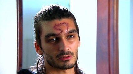 Mateus foi agredido durante protesto em Goiânia