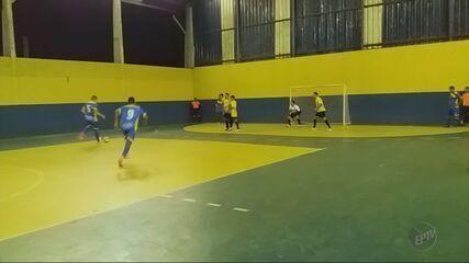 Rodada define os classificados para a 3ª fase da Taça EPTV de Futsal