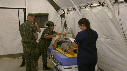 Rio Formoso recebe hospital de campanha do Exército