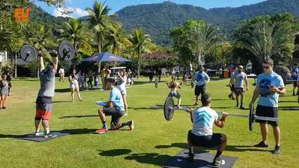 Confira as imagens do evento de crossfit Atlas Fun and Fitness, no Rio