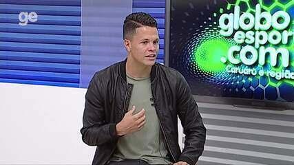Atacante Buba foi o entrevistado do Torcedor GE