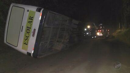 Mulher morre prensada por ônibus na zona rural de Caldas