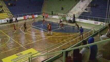 Pouso Alegre vence o Andradas em primeiro jogo das semifinais da Taça EPTV de Futsal